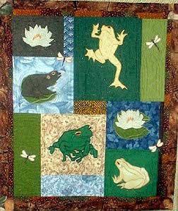 Frogs - BEGINNER PATTERN