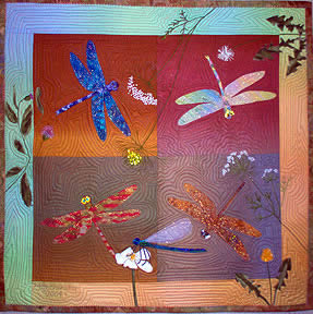 Cotton Dragonflies Pattern