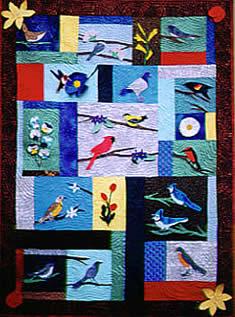 Birds & Flowers - PATTERN