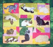 Long Haired Cats - PATTERN