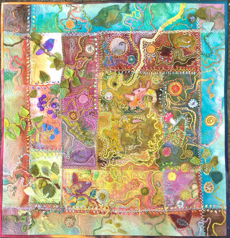 Doodle quilt 1 & 2