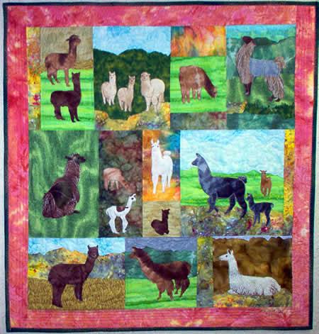 Llamas & Alpacas - PATTERN