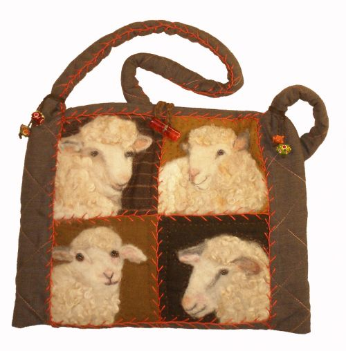 Sheep Faces Bag Pattern