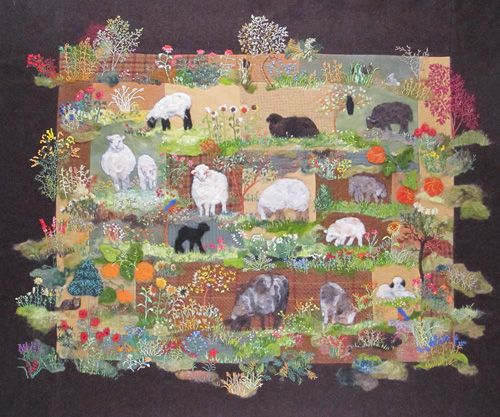 A new Flock Of Sheep Pattern