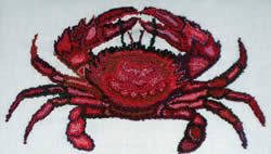 Punch Needle Crab - PATTERN