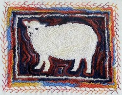 Punch Needle Sheep - PATTERN